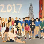 8th grade mural 2017