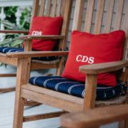 close up picture of chairs on porch