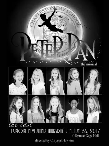 peter pan musical poster