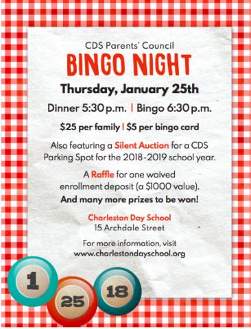 Bingo Night Invite