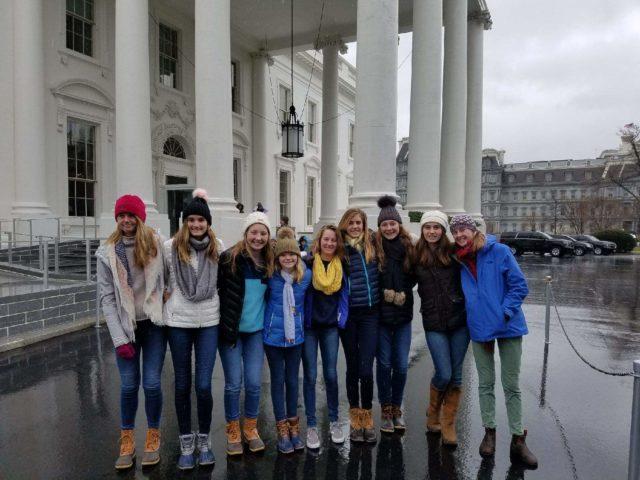 Eighth grade to Washington DC