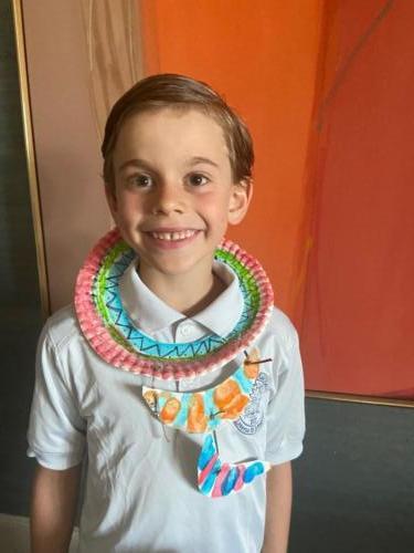 Henry Kenya Maasai necklace art