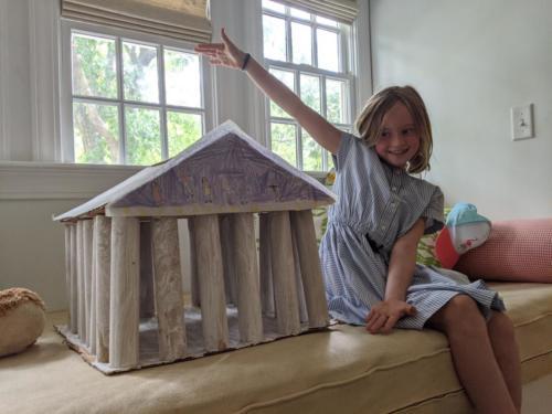 Millie Greece Parthenon STEAM
