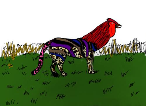 chicken cheetah- ellis