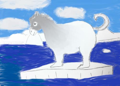 mixed up animal drawing